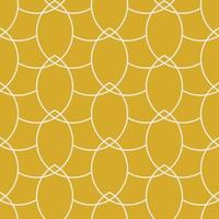 Correntes de ouro vetoriais padrão geométrico sem costura vetor