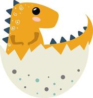 dinossauro bebê fofo vetor