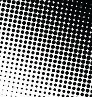 Resumo efeito de meio-tom de fundo vector pontilhada