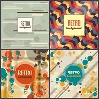 Modelo de Design retro vintage estilo de fundo
