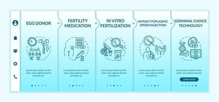 modelo de vetor de integração de tecnologia reprodutiva