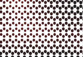 textura vector vermelho claro com discos.