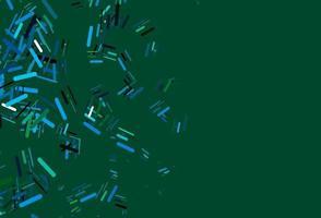 layout de vetor azul e verde claro com linhas planas.