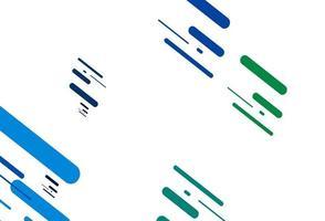 modelo de vetor azul claro e verde com varas repetidas.