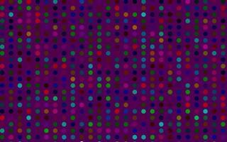 luz multicolorida, modelo de vetor de arco-íris com círculos.