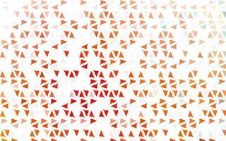 capa de vetor vermelho claro em estilo poligonal.