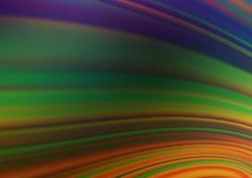 multicolor escuro, modelo brilhante abstrato de vetor de arco-íris.