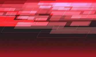 malha de hexágono geométrica abstrata de velocidade da luz vermelha futurista vetor