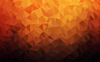 vector vermelho e amarelo escuro, brilhando com fundo triangular.