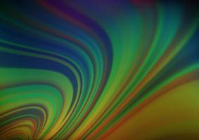 multicolor escuro, abstrato do vetor do arco-íris.