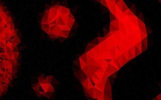 luz vermelha vector polígono abstrato pano de fundo.