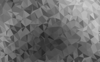 luz prata, cinza vetor brilhante padrão triangular.