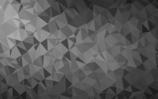 prata clara, padrão em mosaico abstrato cinza do vetor. vetor