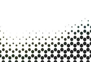 textura de vetor verde claro com discos.