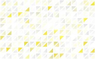 fundo sem emenda do vetor amarelo, laranja claro com triângulos.