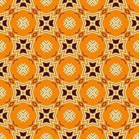 ornamento de forma abstrata sem emenda. padrão de design moderno vetor