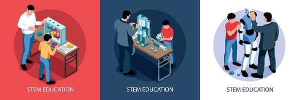 conceito de design de educação de base vetor