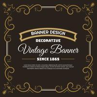 Modelo de Design de fundo vintage flyer