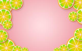 limonada de fundo Vector