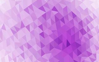 vetor de luz roxa brilhante padrão triangular.
