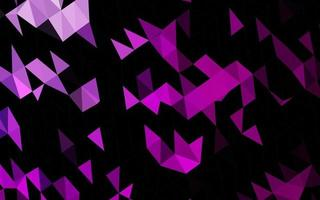 fundo de mosaico abstrato de vetor roxo claro.