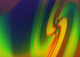 pano de fundo escuro multicolorido do vetor do arco-íris com linhas dobradas.