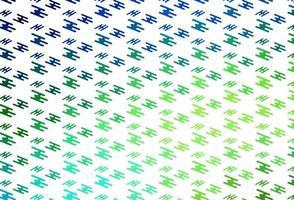 pano de fundo de vetor verde claro com linhas longas.