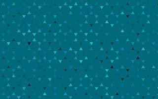 luz azul padrão sem emenda de vetor em estilo poligonal.