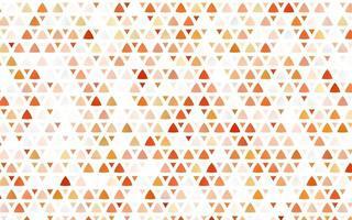layout sem emenda do vetor amarelo e laranja claro com linhas, triângulos.