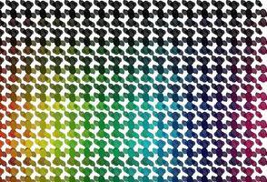 luz multicolor, fundo do vetor do arco-íris com formas líquidas.