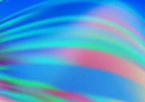 modelo abstrato brilhante de vetor azul claro.