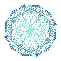 Imagem vetorial de ornamento de mandala vetor