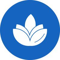 ícone de flor diwali de vetor