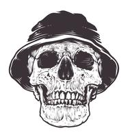 Crânio no Chapéu