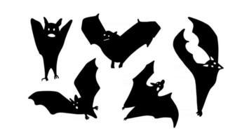 conjunto de morcegos vetor