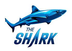 Tubarão de vetor