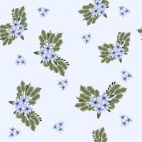 arranjos de padrão floral sem costura lindas flores tecidos têxteis vetor