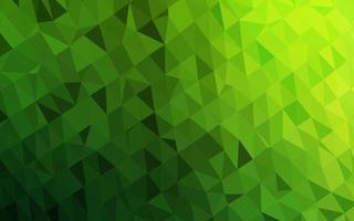 luz verde vetor polígono abstrato.