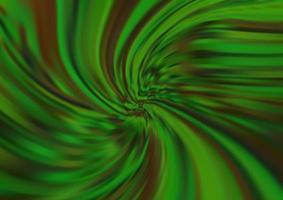 fundo verde claro do vetor com formas de lava.