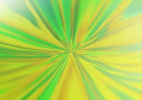 luz verde e amarelo vetor turva modelo brilhante.