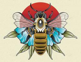 abelha neo tradicional vetor