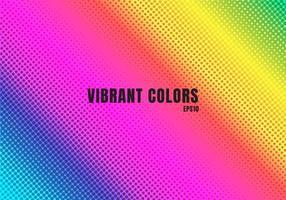 abstrato base de cor do arco-íris com meio-tom. padrão de pontos coloridos vetor