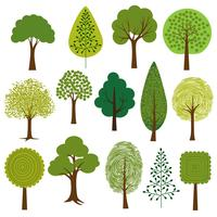 árvores de vetor