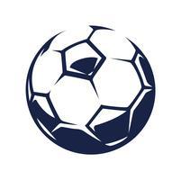 Bola de futebol de vetor