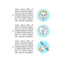 ícones de linha de conceito de criatividade e paixão com texto vetor