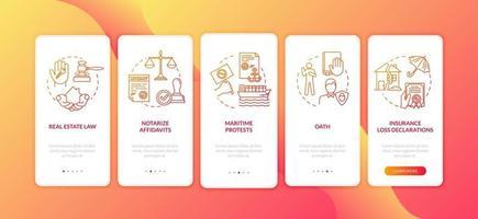 tela da página do aplicativo de integração de apostila e reconhecimento de firma com conceitos vetor