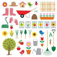 Clipart de jardinagem