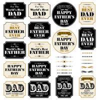 Gráficos de cartaz do dia dos pais