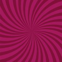 Fundo de raios roxo brilhante. Efeito Twister. vetor