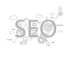 sucesso na busca de internet processo de otimização